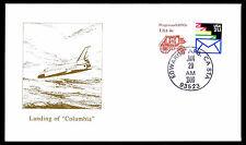 1990 LANDING COLUMBIA STS-32 - EDWARDS AFB, CA - U.S.#1898A & 2150 (ESP #3092)