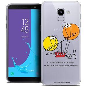 Cover-Gel-per-Samsung-Galaxy-J6-2018-J600-5-6-034-Flessibile-gli-Shadoks-Vivere