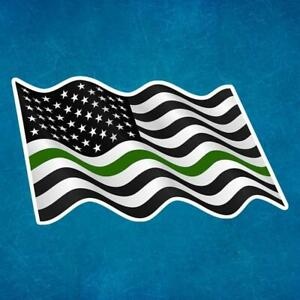 MILITARY-SUPPORT-FLAG-removable-reusable-vinyl-decal-sticker-for-car-truck