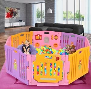 Image Is Loading Baby Child Kids Play Garden Fence Safe Room