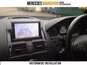 Details about Mercedes C Class Comand W204 Sat Nav Free Installation