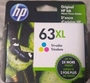 HP 63XL NEW Tri-Color Original HP Ink