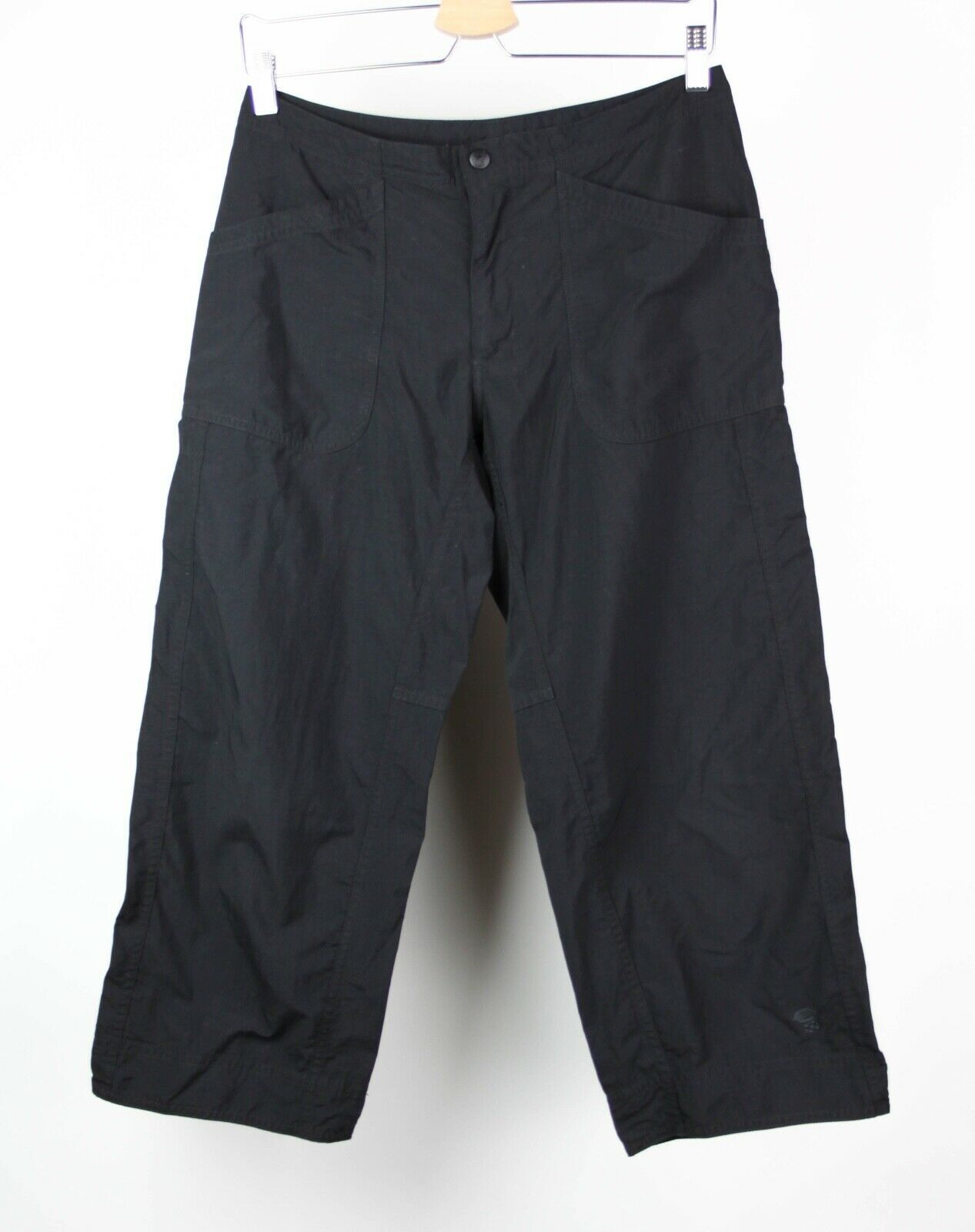 Mountain Hardwear Womens Pants Cropped Athletic Size 6 Black AT57