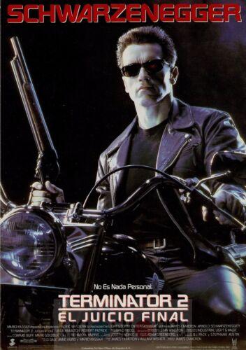Poster A3 Terminator 2 El Juicio Final Arnold Schwarzenegger Pelicula Film 02