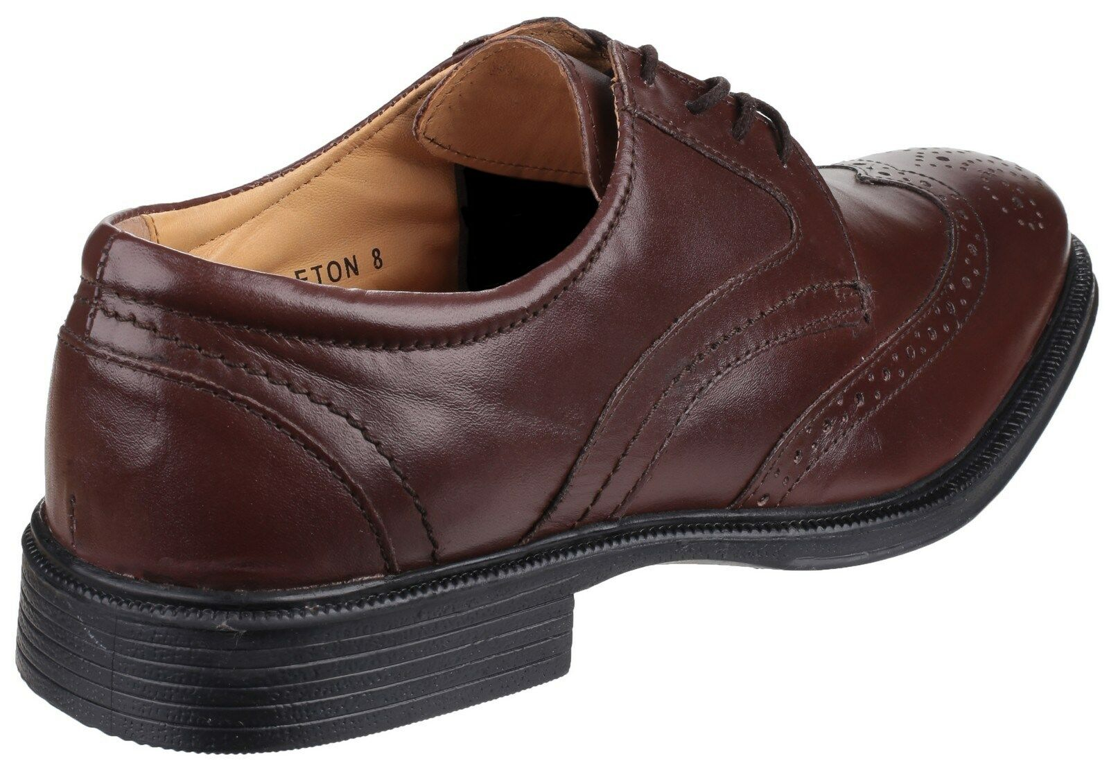 Cotswold Mickleton Brogue Smart Lace up Leather Mens Smart Brogue Shoes UK6-12 d0386b