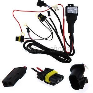 Details about 12V 35W/55W Car HID Bi Xenon H13/9008 Hi/Lo Fuse Relay on