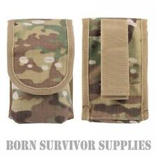 MULTICAM COMBI POUCH Belt Mounted Utility Survival Kit Tin Holder MTP Army Camo