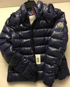 MONCLER-Blue-Ladies-4-L-Bady-Coat-Jacket-New-NWT-Authentic-Down-Feather-Fill