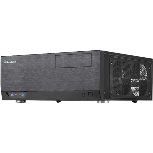 SilverStone SST-GD09B, HTPC-Gehäuse, schwarz