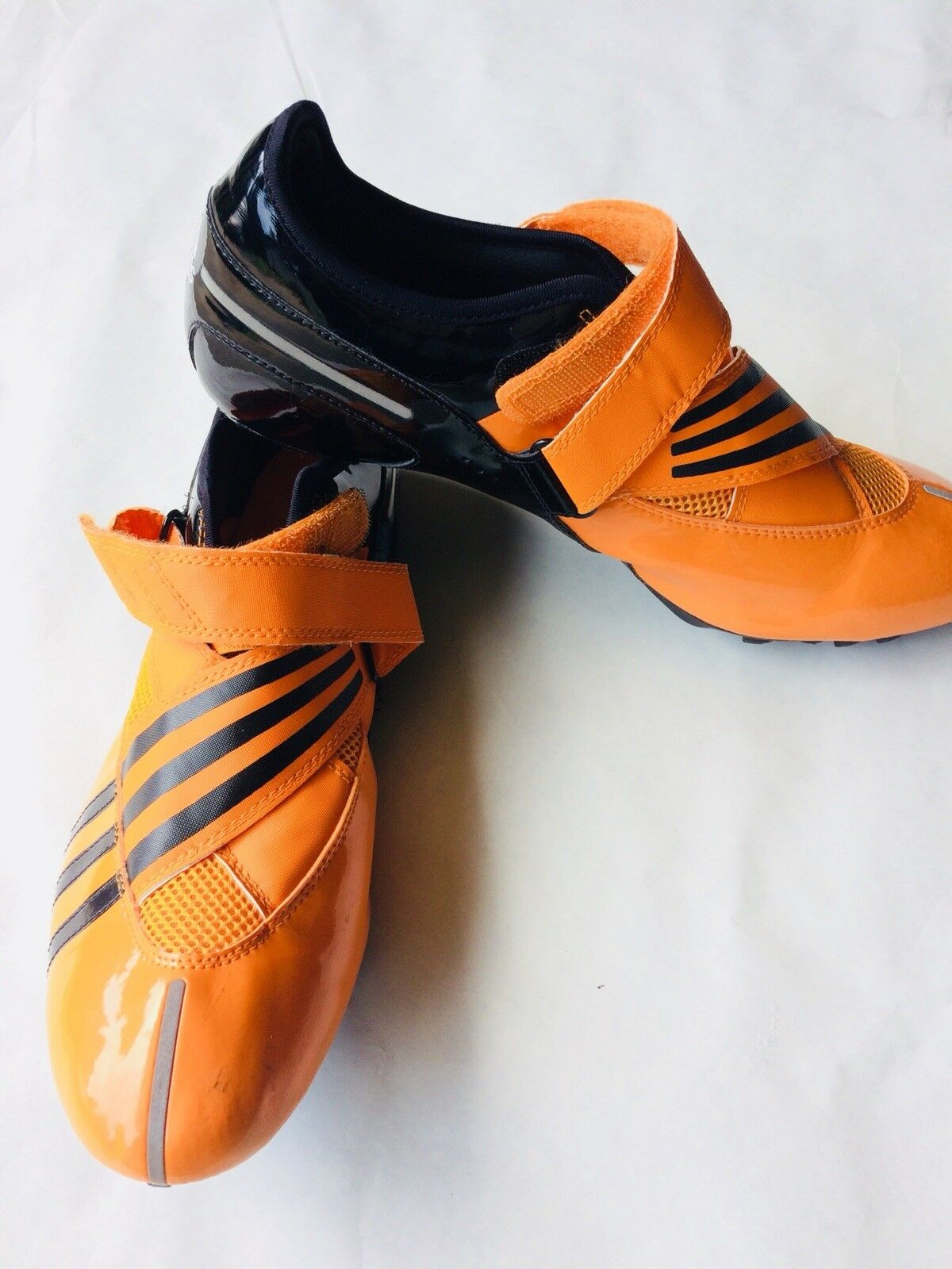 Adidas Adistar Sprint Mens Track Shoe Orange Black 13