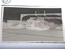 "Orig 1949 Brooklyn NYC 3.5"" trolley photo negative B&QT Grand Newtown Creek"