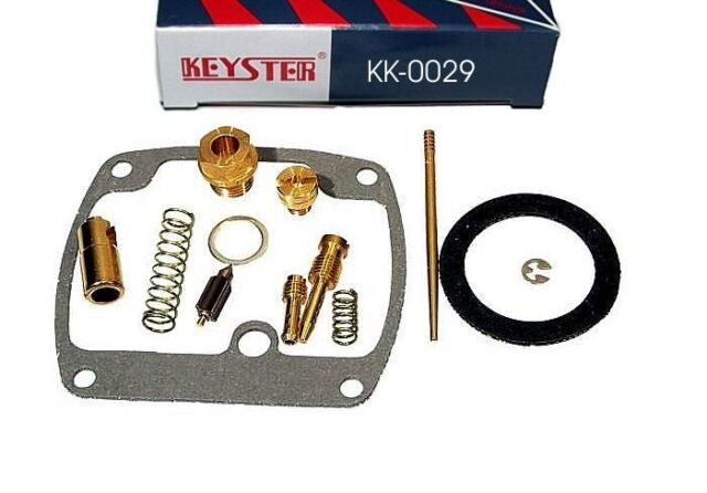 Juego de Juntas Carburador Keyster Kawasaki KH400, Kh 400 S3, Kit de Reparación
