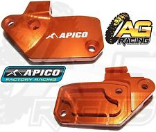 Apico Orange Front Clutch Reservoir Cover Brembo For KTM SX-F 250 2006-2010 MX