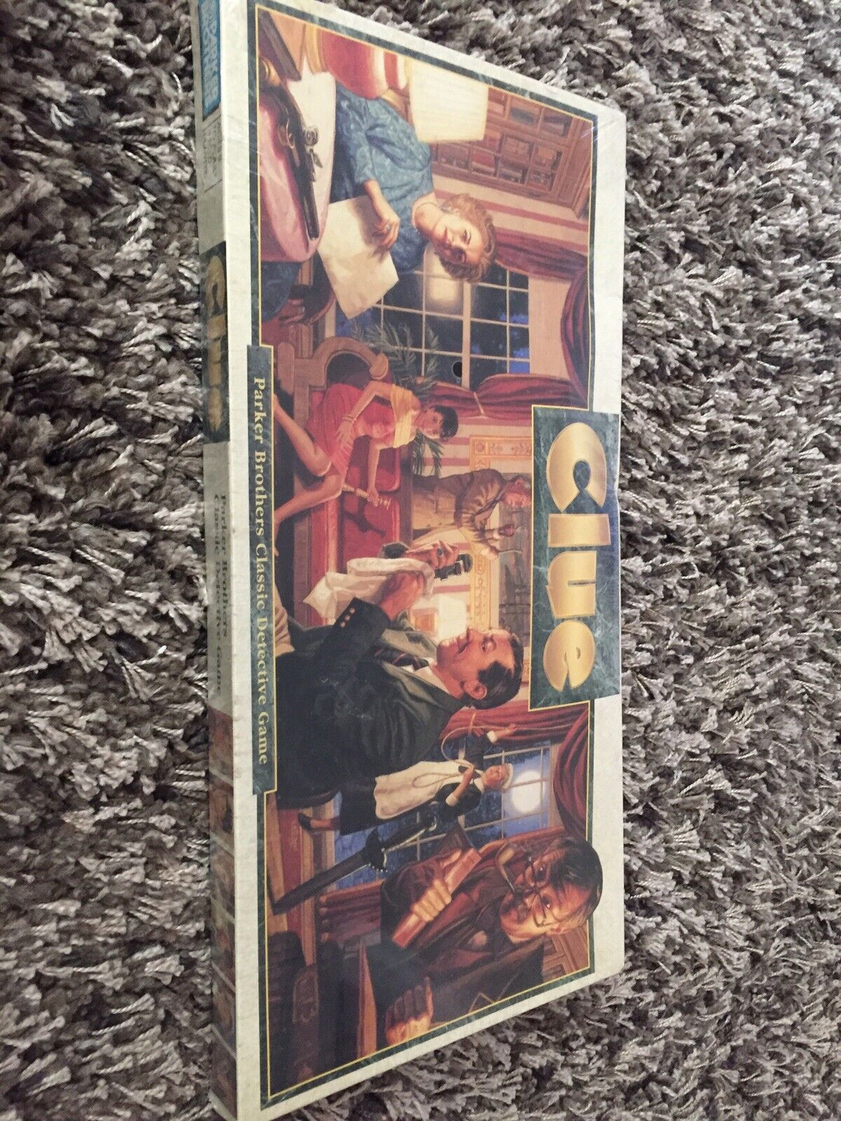 Vtg Clue Board Game Parker Bredhers 1992 Classic Detective Game Complete New