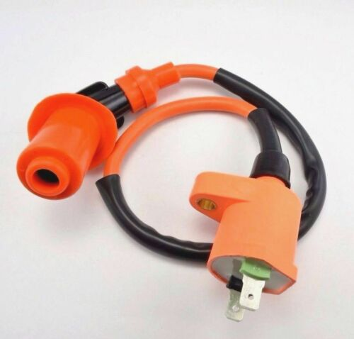 Ignition Coil FOR Gy6 50 125 150cc Spark Plug Wire Scooter Moped ATV Go Kart