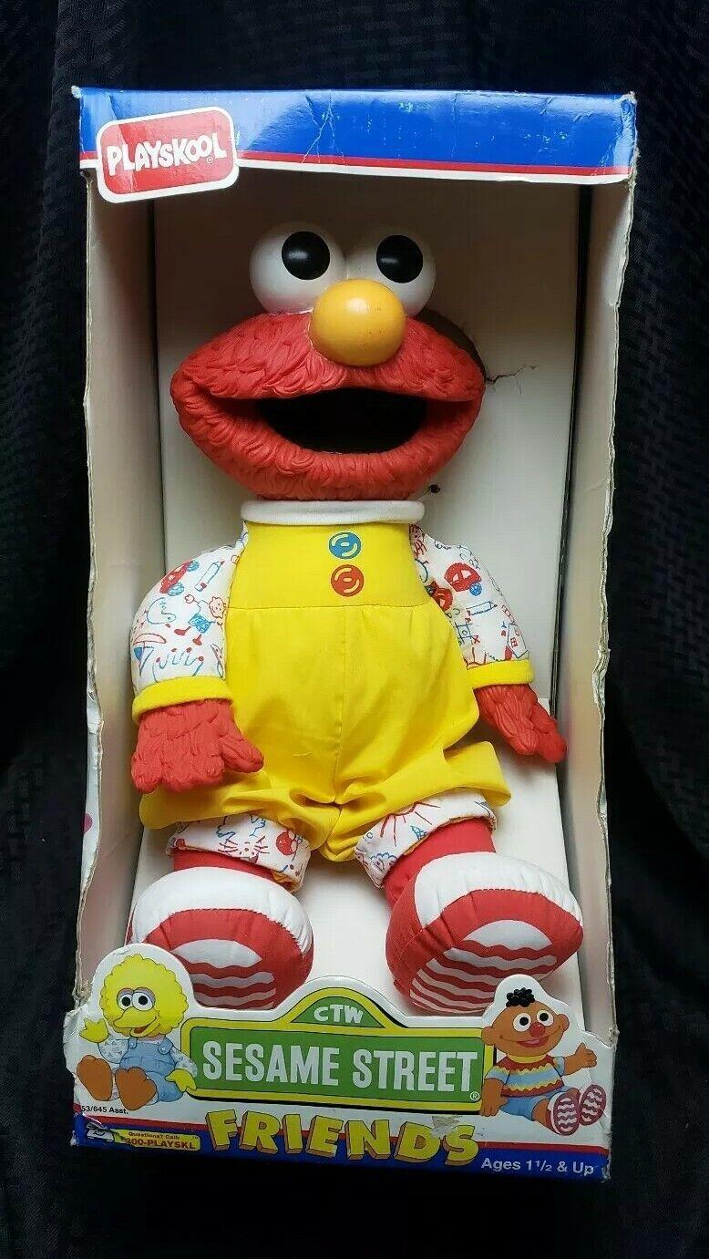 NOS Vintage Elmo Sesame Street Friends