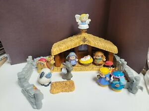 Fisher Price Little People Deluxe Nativity Play Set Christmas