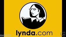 Lynda.com 1 Year Premium Account ➔Learn Angular IOS iPhone React Android Courses