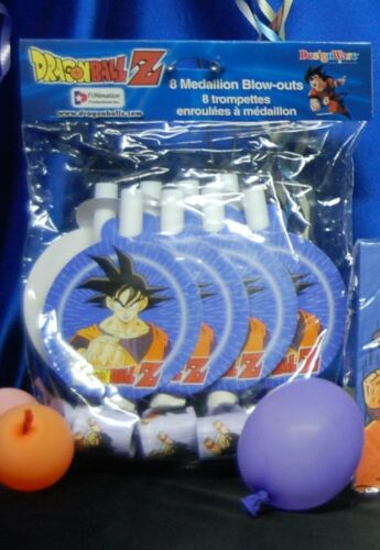 DragonBall Z Party # 18 for 16 Hats,Blowouts,Loot,Bags-Napkins-Tablecover
