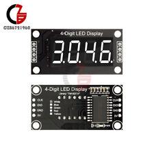 036 Tm1637 4 Bit 7 Segment Tube White Led Digital Display Module For Arduino