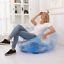 thumbnail 3 - Inflatable Folding Sofa Home Outdoor Transparent Chair Camping Leisure Sitting