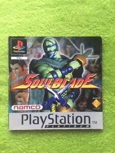 PS1-Soulblade-Platino-Solo-Instrucciones