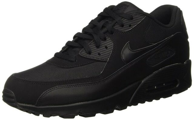 check out ce45f d92f8 Nike Air Max 90 Essential Mens Size 10.5 Running Black 537384 090