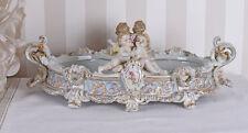 PORZELLANSCHALE BAROCK ENGEL PUTTEN Antik SCHALE BODENMARKE Porzellan