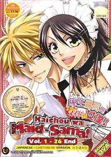 Kaichou Wa Maid Sama DVD (Eps: 1 to 26 end) + Bonus OVA (English Subtitle)
