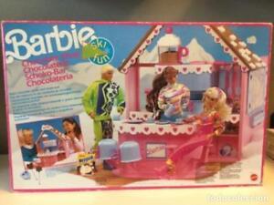 Barbie.   Chocolatería.   Mattel.   1990