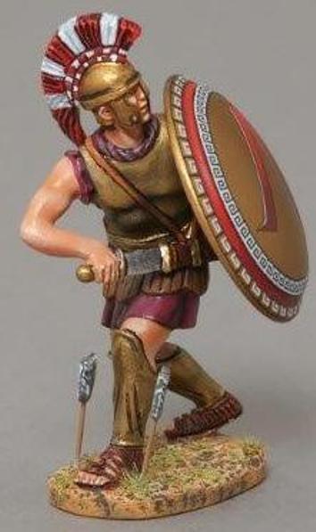 Thomas Gunn Antico Greci & Persiani SPA006A Spartan Guerriero Disegnare Spada