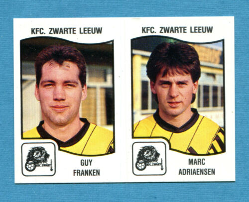 FOOTBALL 90 BELGIO Panini 446 ZWARTE LEEUW -New KFC Figurina-Sticker n