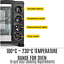 thumbnail 9 - 45L Convention Oven Bench Top Multi Ventilation Hotplates Countertop Baking New