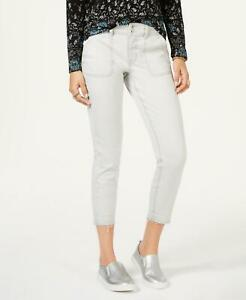 Style-amp-Co-7001-Size-14-NEW-Washed-Mint-Skinny-Leg-Jeans-Ankle-Released-Hem-54