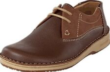 FOOTPRINTS® by Birkenstock- Derbies Memphis,leather/nubuck -Brown- UK 5