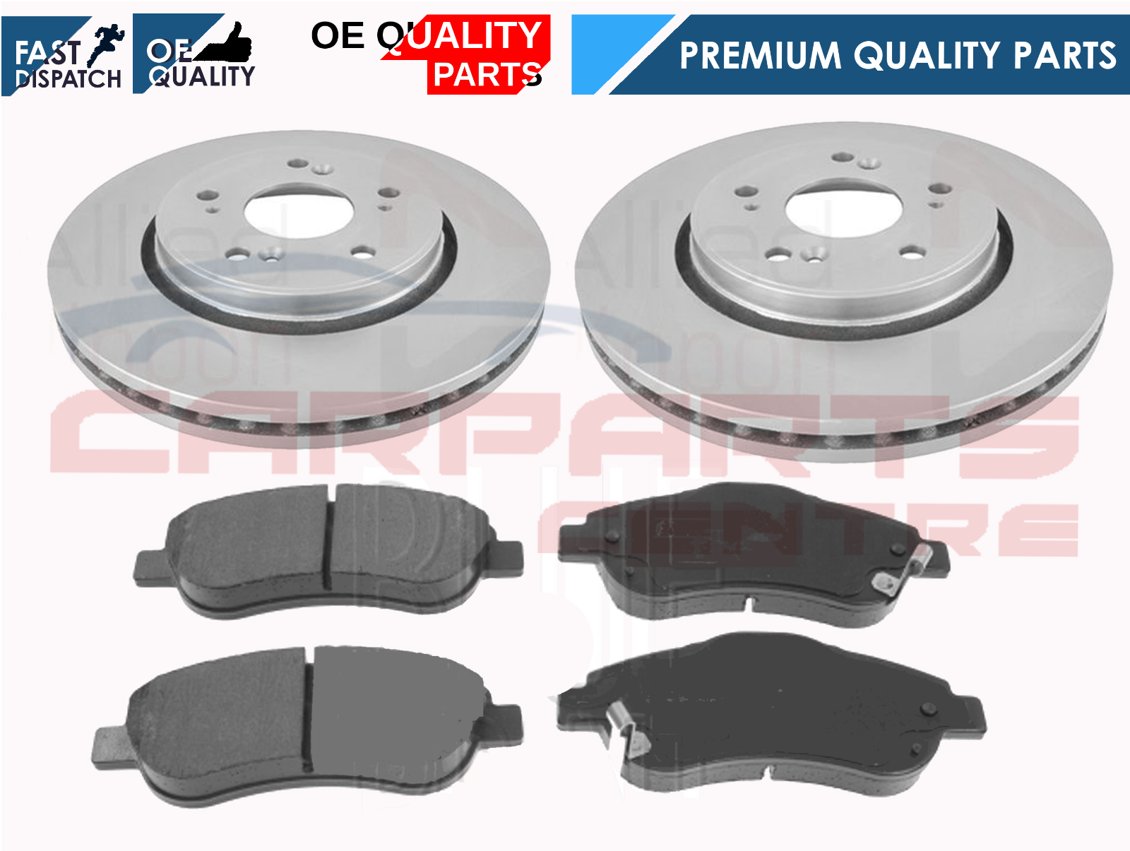 Rear Brake Pads For Honda CR-V 2.0i 2.2i-CTDI 4WD