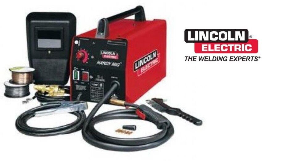 New Lincoln K2185-1 Handy MIG 110V MIG Welder (NEW).
