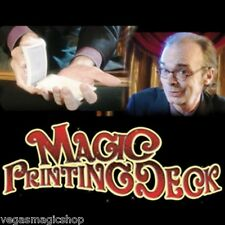 Magic Printing Deck - Amazing Magic Trick Deck of Playing Cards - Easy to Learn