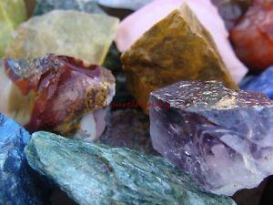Natural-TUMBLE-ROUGH-2000-CARAT-Lots-Rock-Gemstone-amp-Crystal-Rough-Free