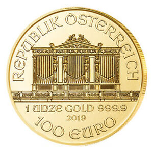 1 oz Gold Wiener Philharmoniker 2019 Österreich - 15 Euro Rabatt ab 3 Stück