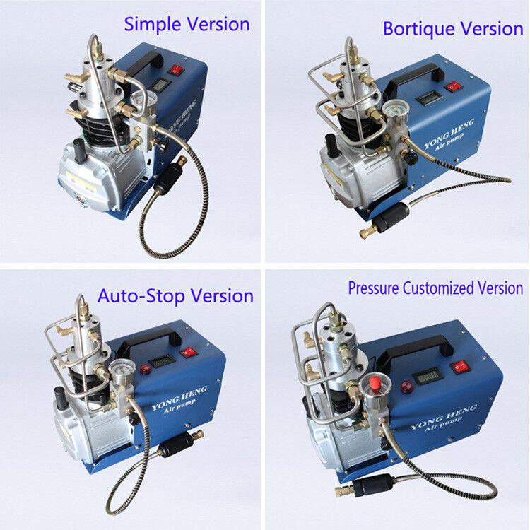 300BAR 30MPA 4500PSI High Pressure Air Pump Electric Air Compressorn 110V 220V