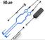 Bande-Led-Pour-Casque-Moto-Shark-Shoei-3-Fonctions-Coloris-bleu miniatura 2