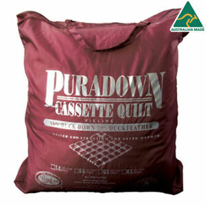 Puradown-50-Duck-Down-amp-50-Feather-Doona-Quilt-Duvet-KING-QUEEN-DOUBLE-SINGLE