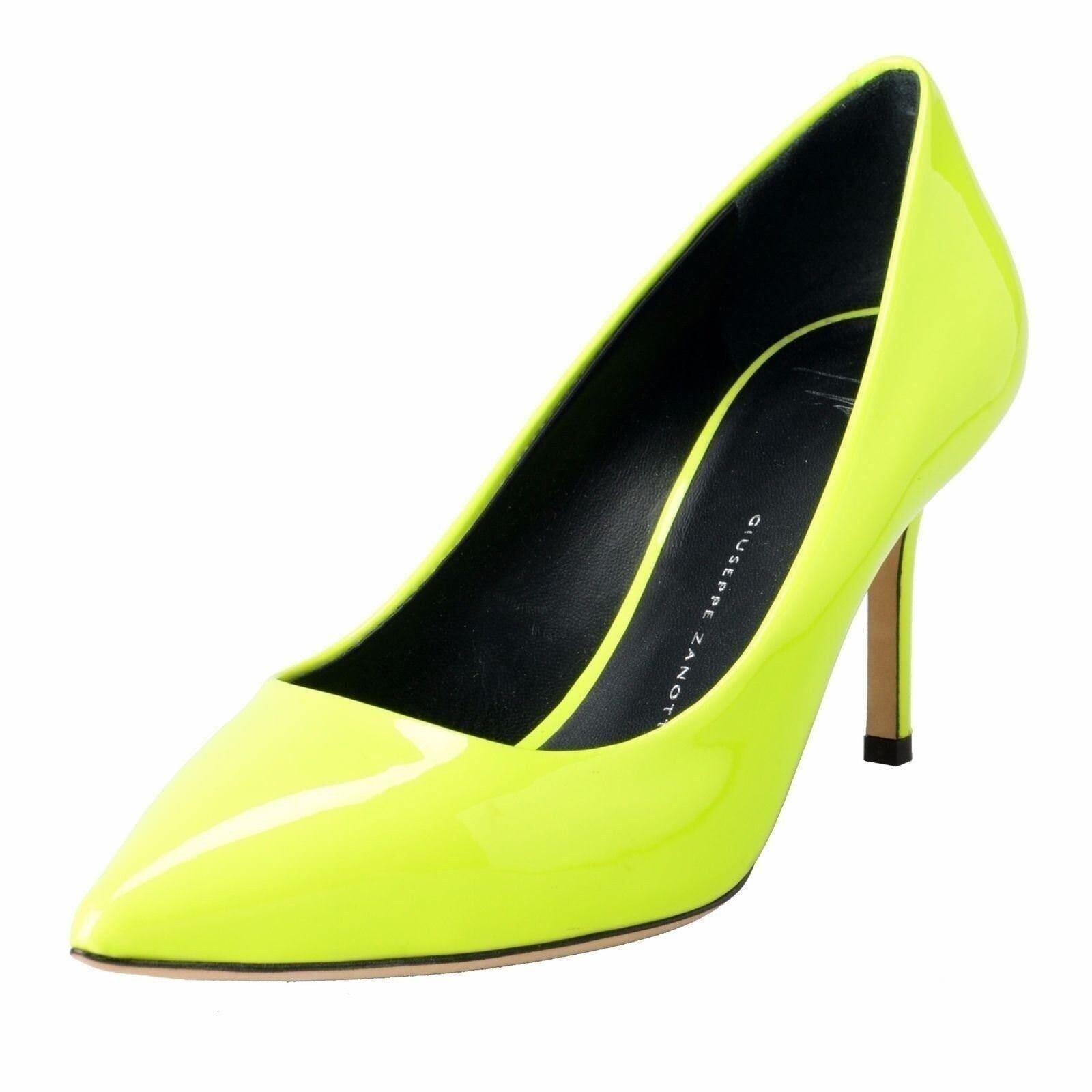 Giuseppe Zanotti Design Damen Limettengrün Pumps High Heels Schuhe US 5.5 It