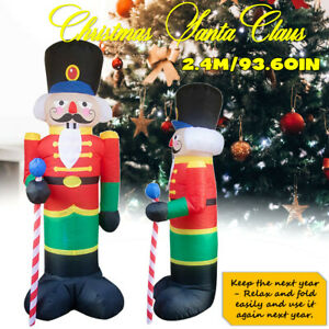 Nutcracker Inflatable Santa Claus Soldier Inflatable Model ...