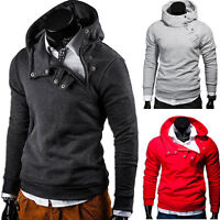 BEHYPE Kapuzenpullover Sweatshirt Zipper Jacke Pullover Hoodie Schwarz/Grau NEU