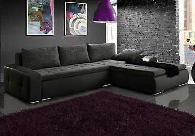 Brand new corner sofa bed sleeping option living room left and right bed