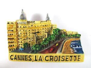 Aimant Cannes La Croisette Moulés, Souvenir France France, Neuf. *-enir Frankreich France,neu.*fr-fr Afficher Le Titre D'origine Retarder La SéNilité