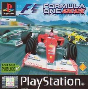playstation 1 und ps 2 formula one arcade f1 formel 1 rennspiel neu ebay. Black Bedroom Furniture Sets. Home Design Ideas