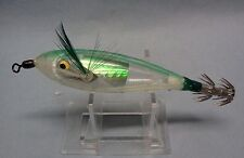 "NEW Williamson Lures Nunu 10cm = 4"" Squid Jig Discontinued Green-Clear"